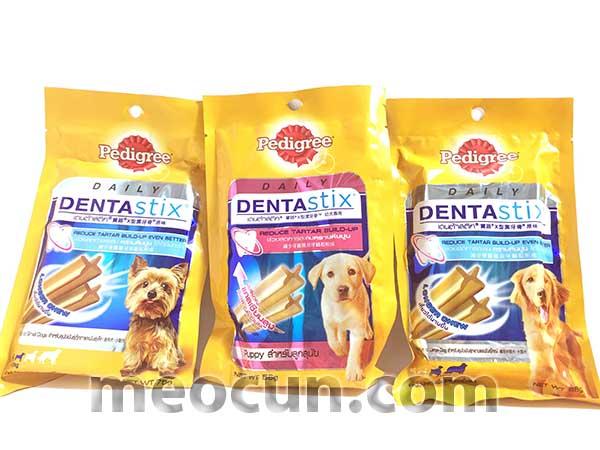 Bánh xương chăm sóc răng Dentastix - Xương nhai cho chó giá rẻ Hà Nội - meocun.com