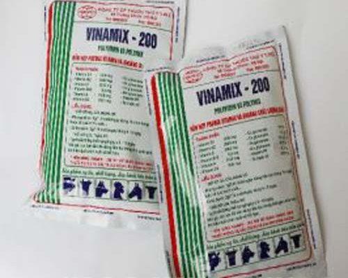 Thuốc bổ cho chim Vinamix 200 - thức ăn cho chim chào mào