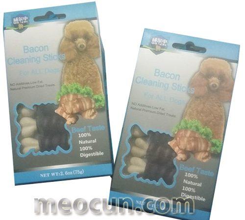 Bánh thưởng cho chó, popcon cho chó, đồ ăn vặt cho chó Mèo Cún Pet Shop