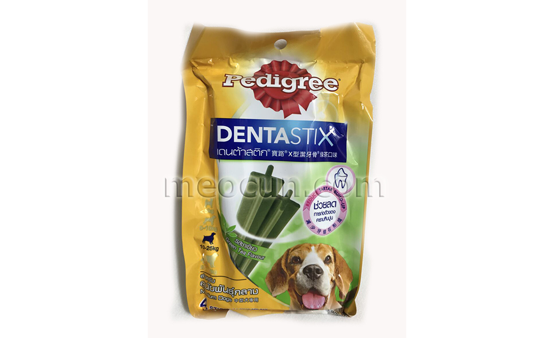 bánh xương vị trà xanh dentastix -thức ăn chó meocunpetshop