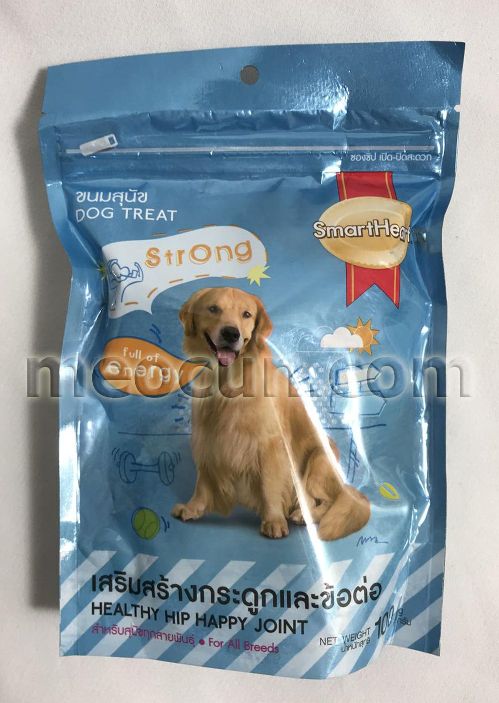 bánh snack smartheart khỏe hông khớp - thức ăn cho chó meocun.com