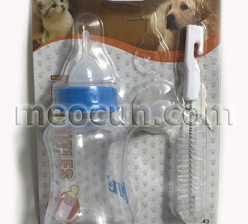 bình sữa cho chó con - phụ kiện chó mèo meocun.com
