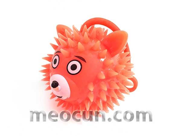 Bóng chơi phát sáng cho chó mèo - đồ chơi chó mèo - meocun.com