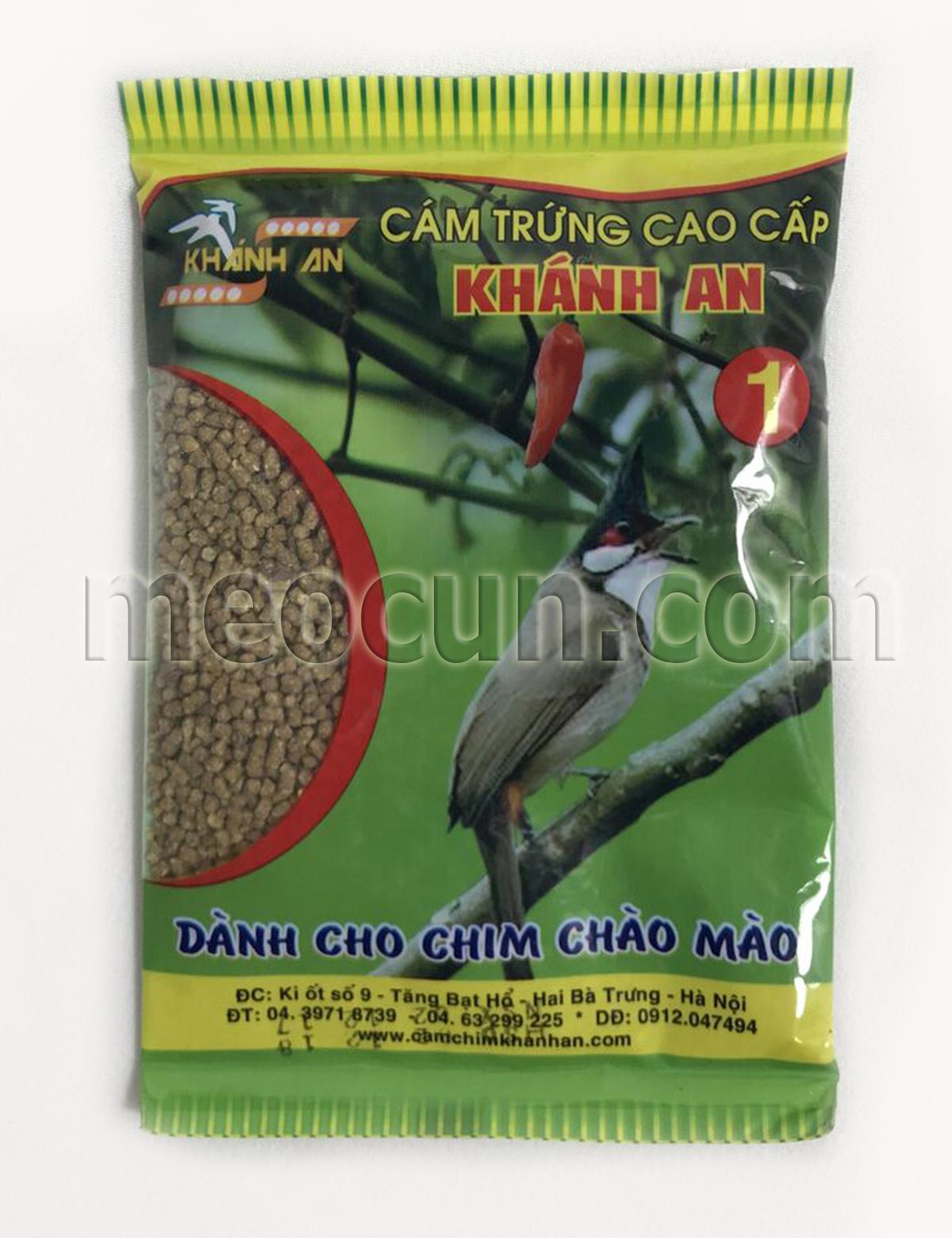 cám chim chào mào - thức ăn cho chim meocun.com
