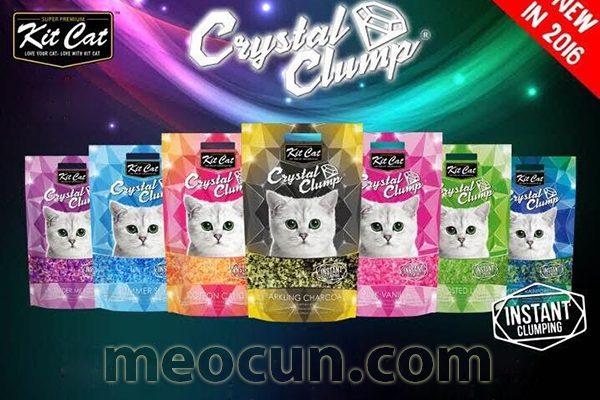 Cát vệ sinh cho mèo Crystal Clump sỉ lẻ giá rẻ toàn quốc