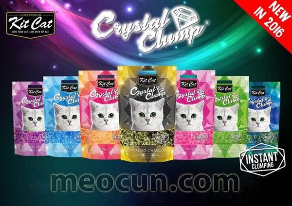 Cát thủy tinh cho mèo Crystal Clump 8 tính năng ưu việt