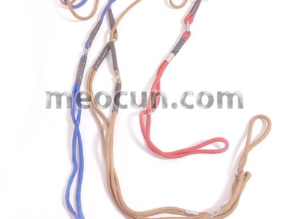 Dây sâu bé - Bộ vòng cổ và dây dắt chó đẹp - Mèo Cún Pet Shop