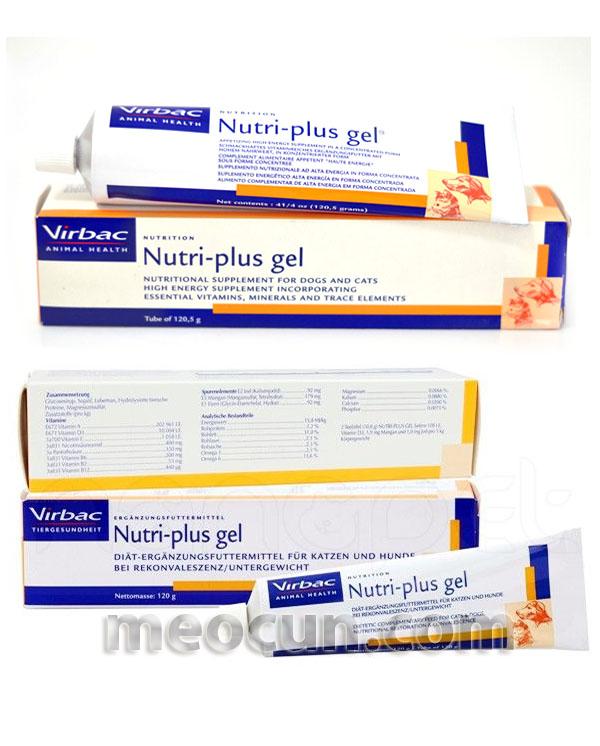 Kem ăn dinh dưỡng Nutri-plus Gel - thức ăn cho chó meocun.com