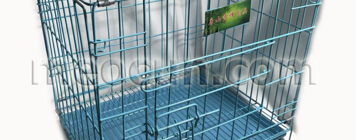 lồng sắt sơn tĩnh điện cho chó mèo - phụ kiện chó mèo meocun.com
