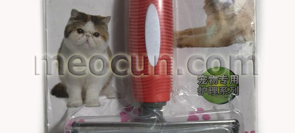 lược chải lông gỡ rối cho chó mèo - phụ kiện chó mèo meocun.com