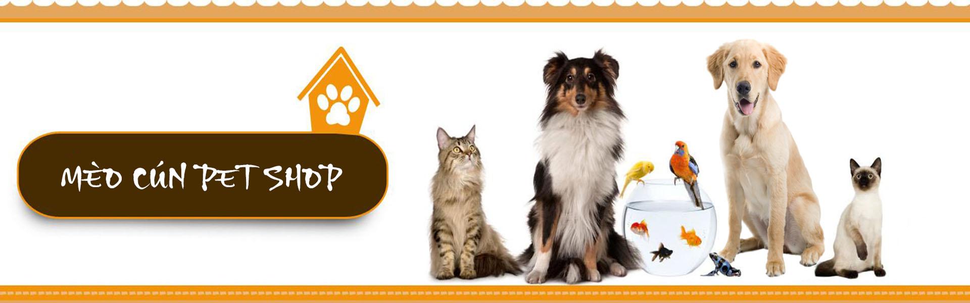 Mèo cún pet shop - Thức ăn chó mèo