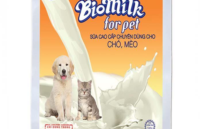 Sữa cho chó mèo BioMilk - Thức ăn cho thú cưng