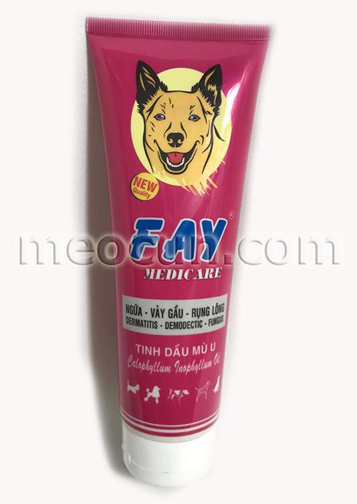 sữa tắm fay trị ngưa vảy gầu, sữa tắm cho chó meocun.com