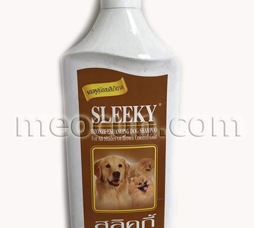sữa tắm sleeky cho chó lông nâu đổ - sưa tắm cho chó meocun.com