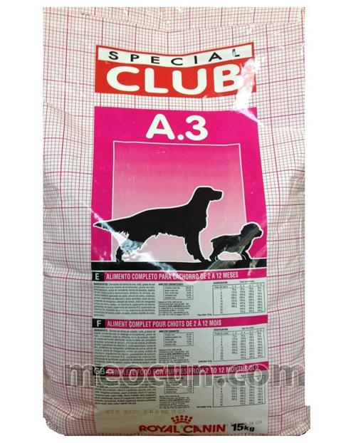 Thức ăn chó con và chó sinh sản Royal Canin Club Pro A3