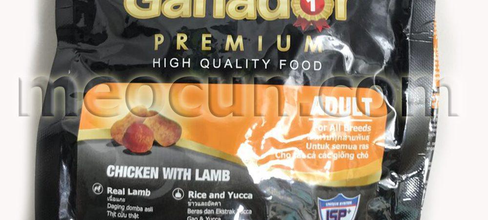 thức ăn cho chó ganador - thức ăn cho chó meocun.com