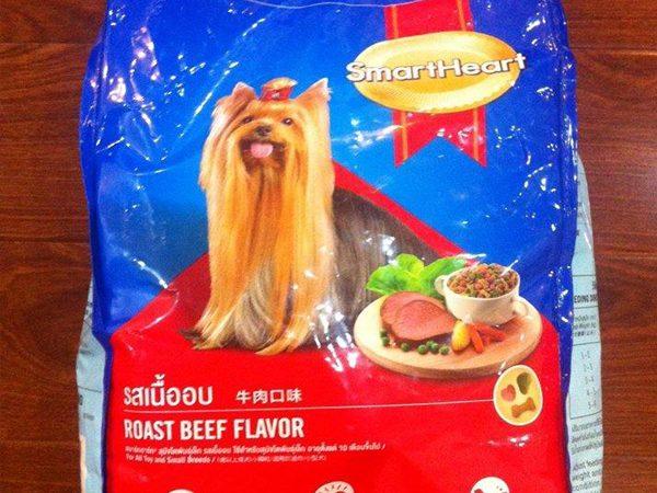 Smartheart cho chó giống nhỏ lông dài - thức ăn cho chó