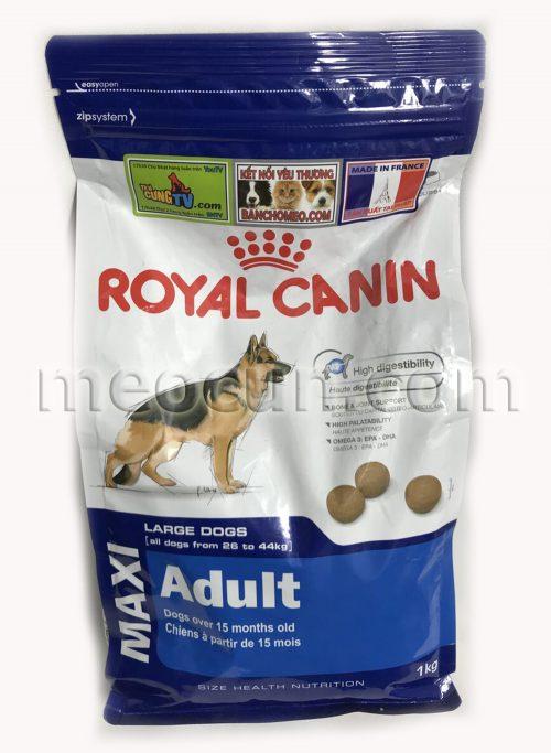 thức ăn cho giống chó trưởng thành - thức ăn cho chó meocun.com