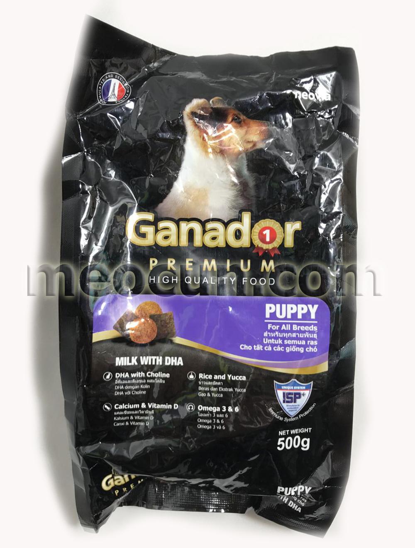 thức ăn cho chó con ganador - thức ăn cho chó meocun.com