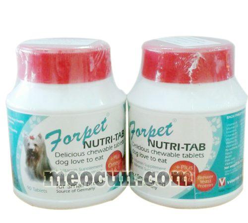 thức ăn cho chó mèo - thuốc bổ cải thiện da lông cho chó mèo
