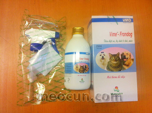 Thuốc diệt ve chó Vime - Frondog - thuốc chữa ve chó