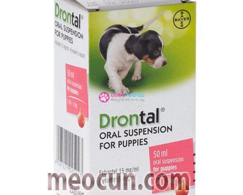 Thuốc tẩy giun sán cho chó con Drontal - Mèo Cún Pet Shop