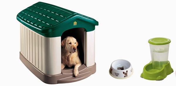 Vật dụng cần thiết khi nuôi chó - nhà cho chó