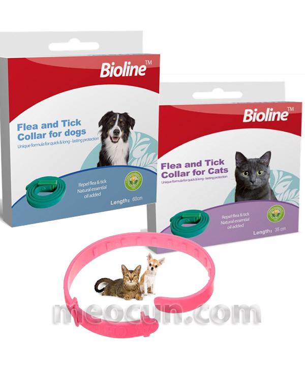 Vòng chống ve rận cho chó - vòng chống rận cho mèo - meocun.com