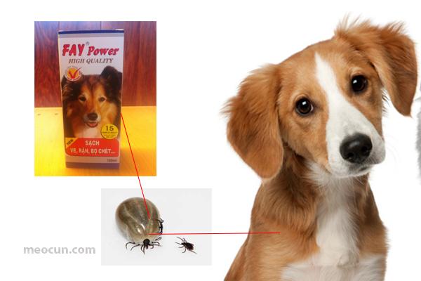 Vật dụng cần thiết khi nuôi chó - Thuốc xịt ve rận chó mèo