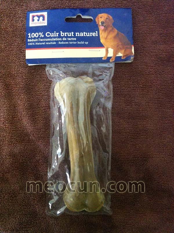 Xương gặm cho chó Mondou - thức ăn cho chó meocun.com